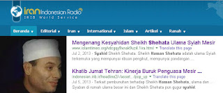 Hassan Shehata Syiah Syahid Caci Aisyah
