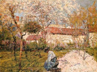 Victor CHARRETON  - Printemps dans la maison d'artiste