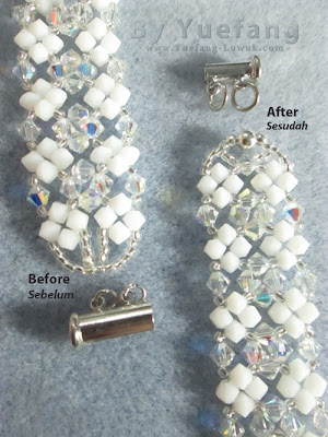 Lady_In_white_bracelet_before_after_closure_design