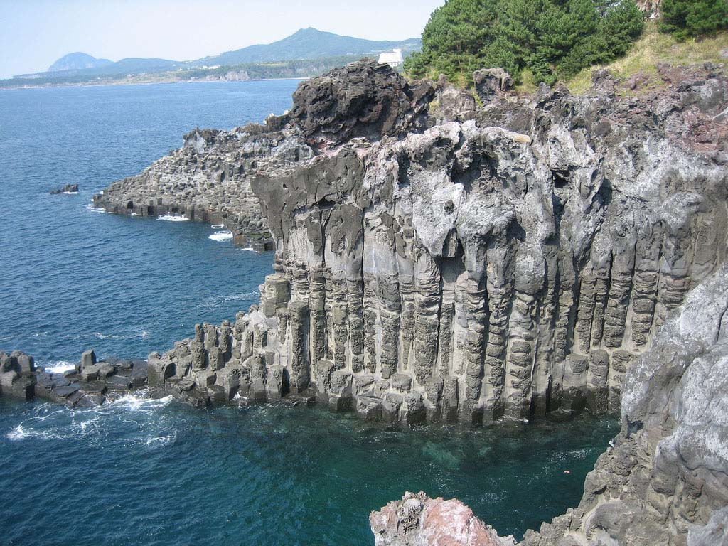 Jeju Island is a volcanic island, dominated by Hallasan Halla