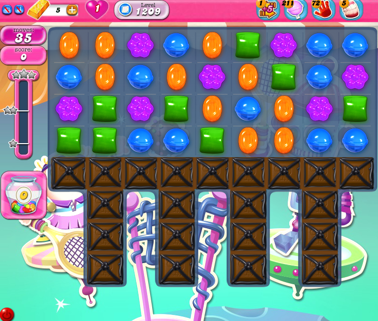 Candy Crush Saga 1209