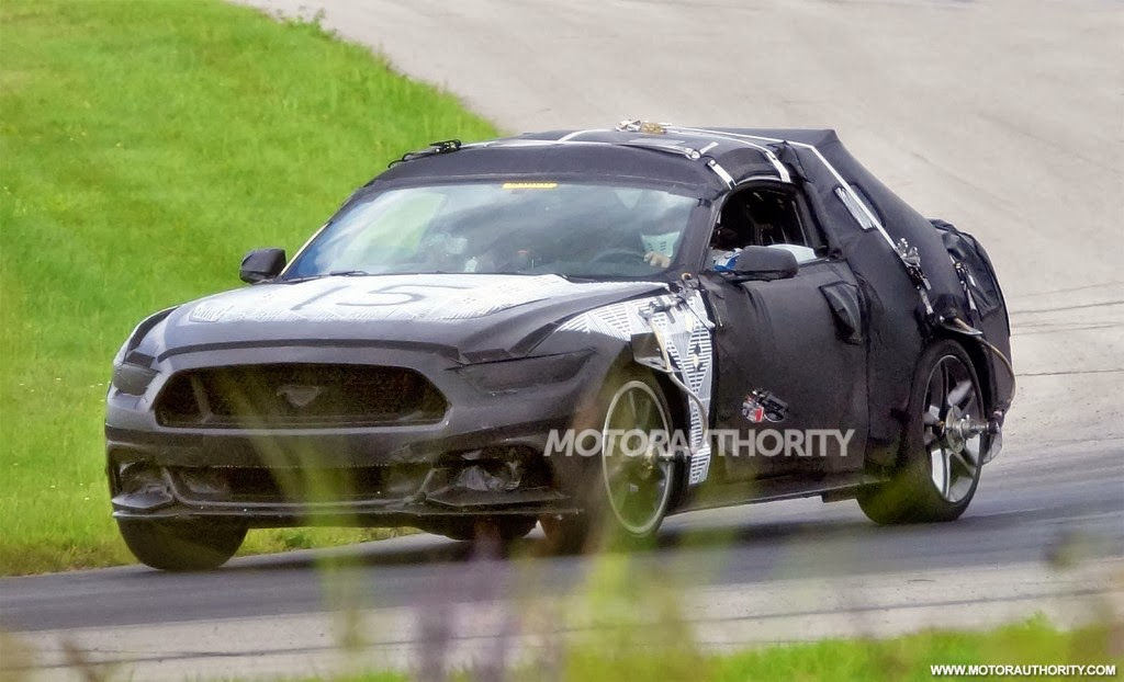 Leaked 2015 Ford Mustang Specs