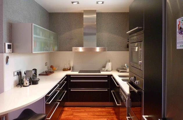 Decoraci n minimalista y contempor nea decoraci n y - Estilos de cocinas ...