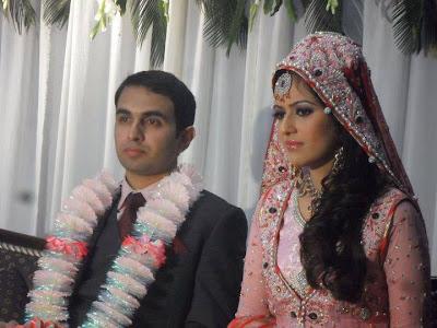 Beautiful Geo Newscaster Ayesha Bakhsh Wedding With Adnan Amin