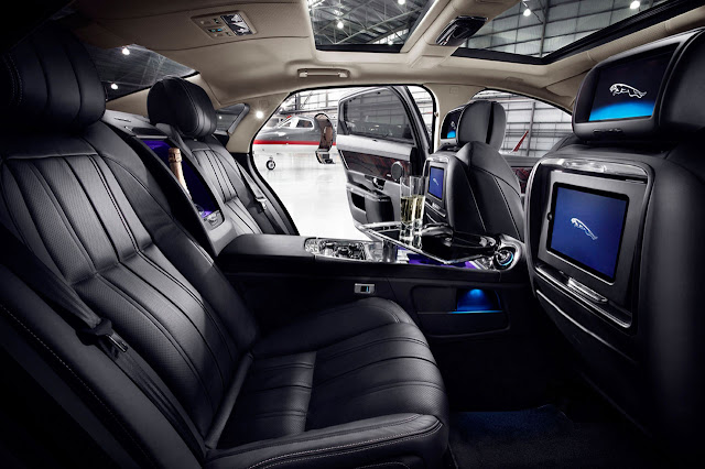Jaguar XJ Ultimate interior