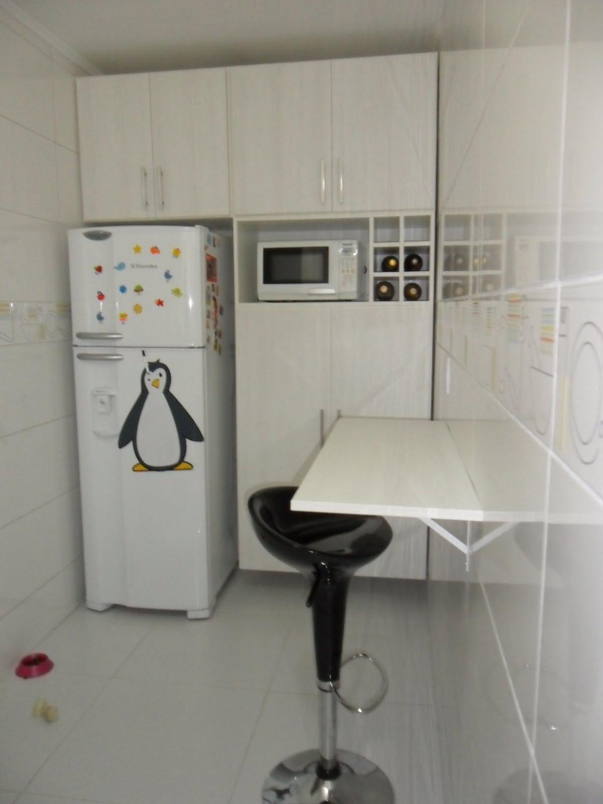 Arquitetura: Cozinha e Banheiro de apartamento renovados!!! #446276 1200 1600