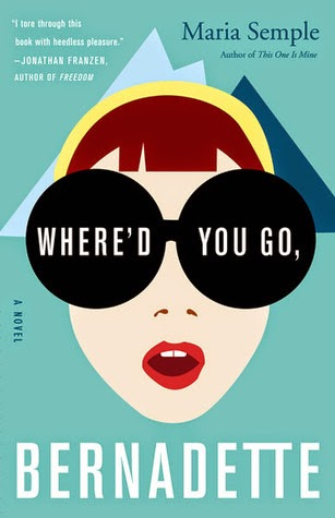 Where'd You Go, Bernadette book cover art