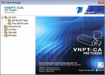 Cài đặt chữ ký số VNPT
