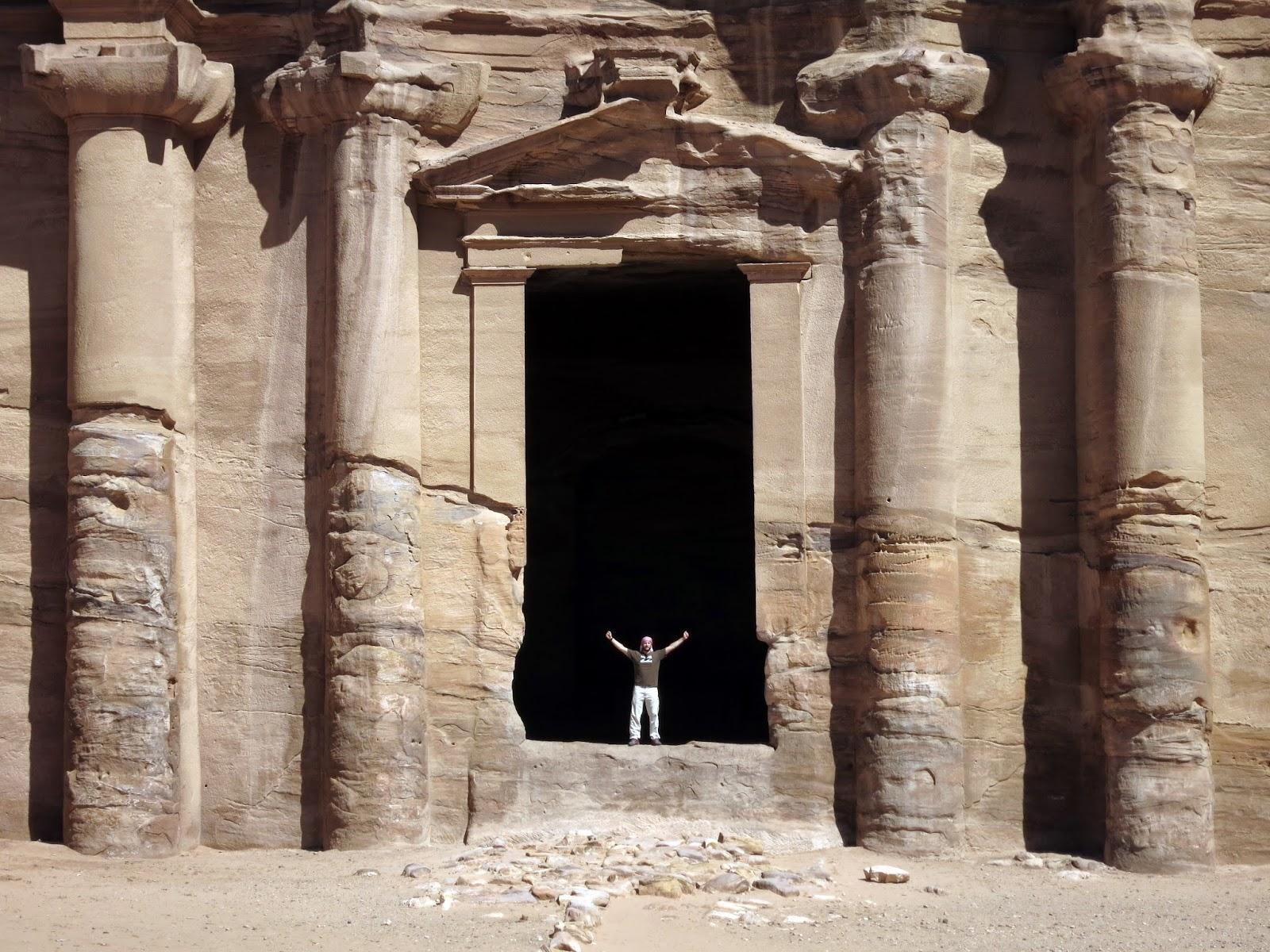 Entrada del Monasterio, Petra