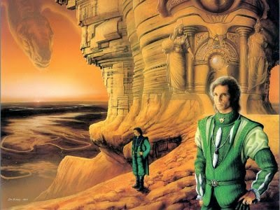 Jim Burns cover art for Valentine Pontifex