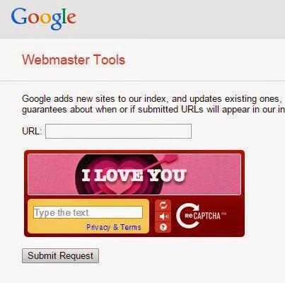 Google Webmaster Tools Rayakan Hari Valentine's Day