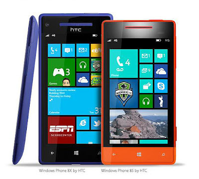 Windows 8X by HTC and Windows 8S by HTC