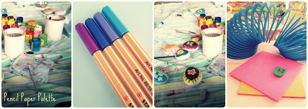 Pencil, Paper, Palette