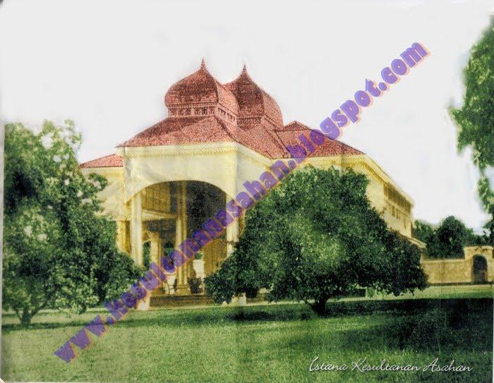 Istana Indra Saksi Kesultanan Asahan