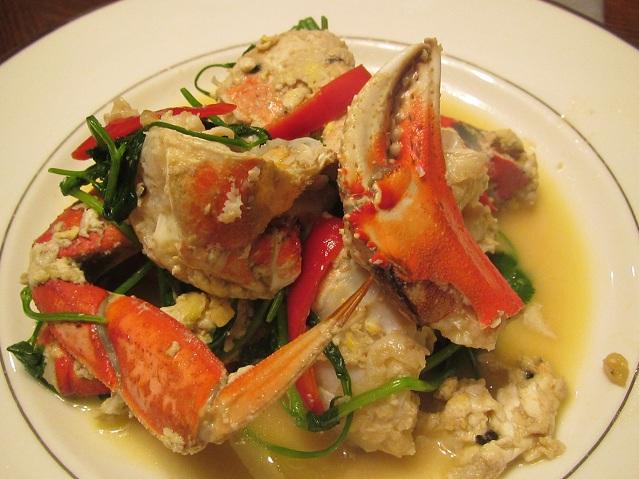 Stir Fry Crab