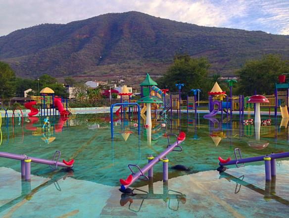 Water park at Lake Chapala
