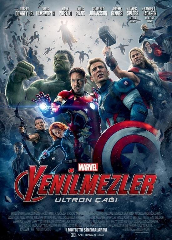 Yenilmezler: Ultron Çağı (2015) Film indir