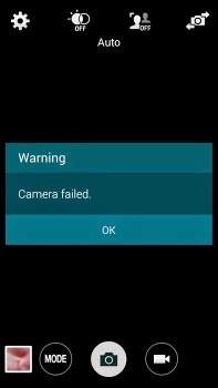 Camera Bug problems have been overcome S5 Galaxy Samsung