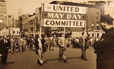Early 1930's non-Stalinist Communists and Socialists organized a United Front to commemorate May Day