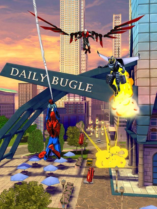 تحميل لعبة سبايدر مان للاندرويد Spider-Man