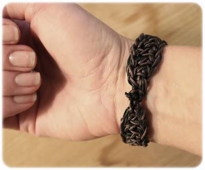 Virkat armband