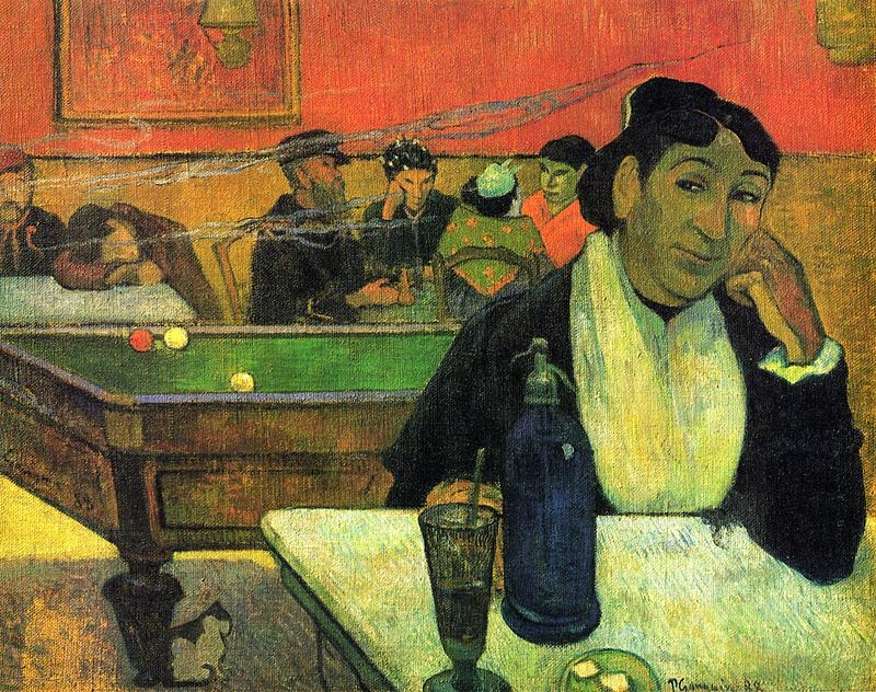Paul Gauguin, Café de Nuit, Arles (1888)