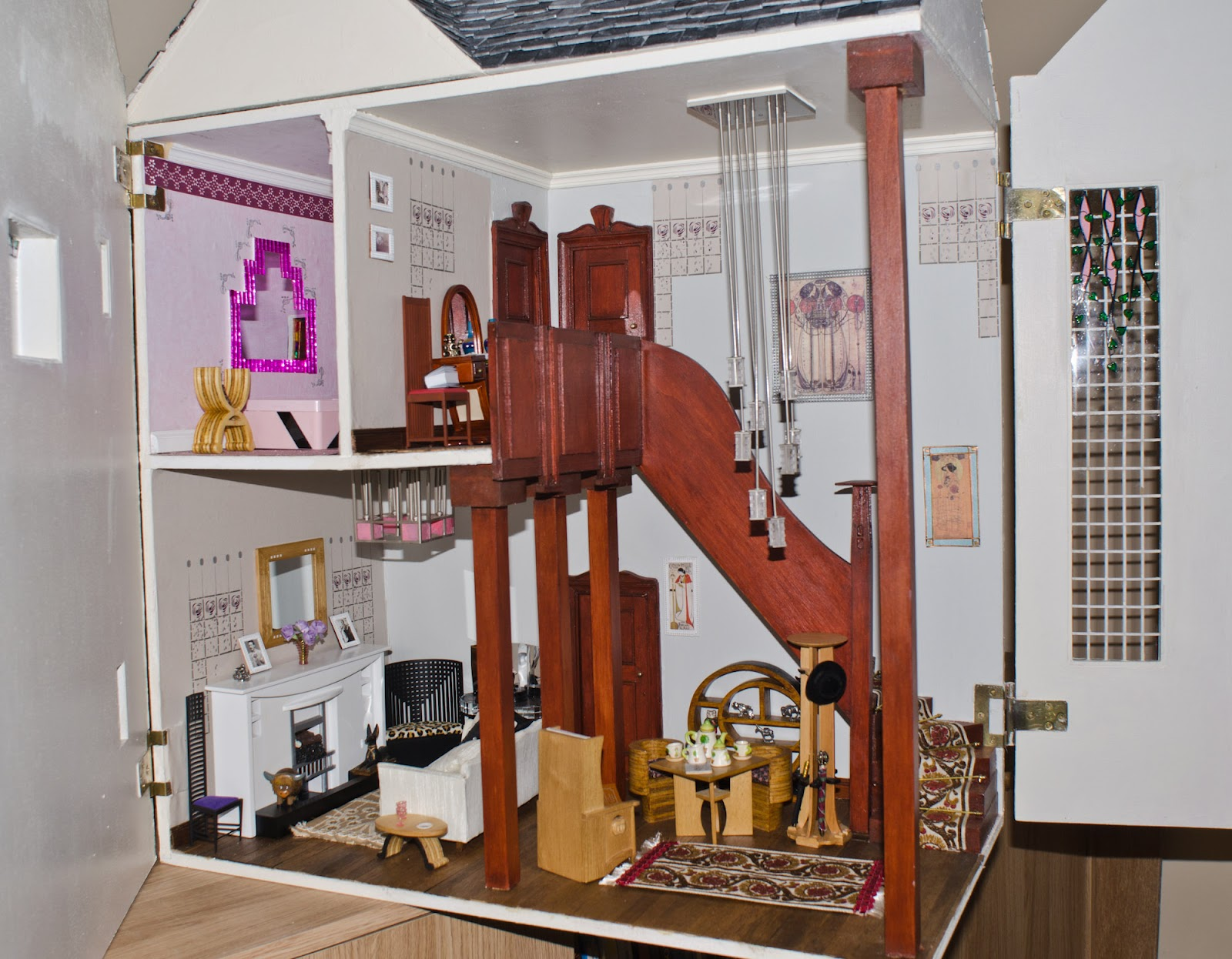 Charles Rennie Mackintosh dolls house My Dolls House