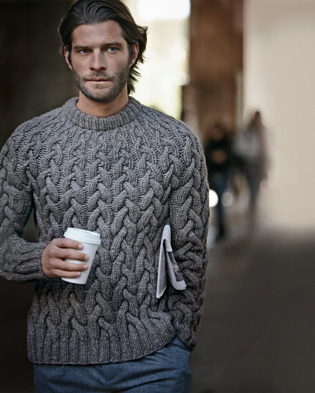 tricot-pull-irlandais-50 shades-grey