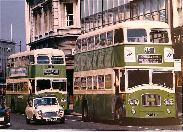 Southdown Buses on Parade