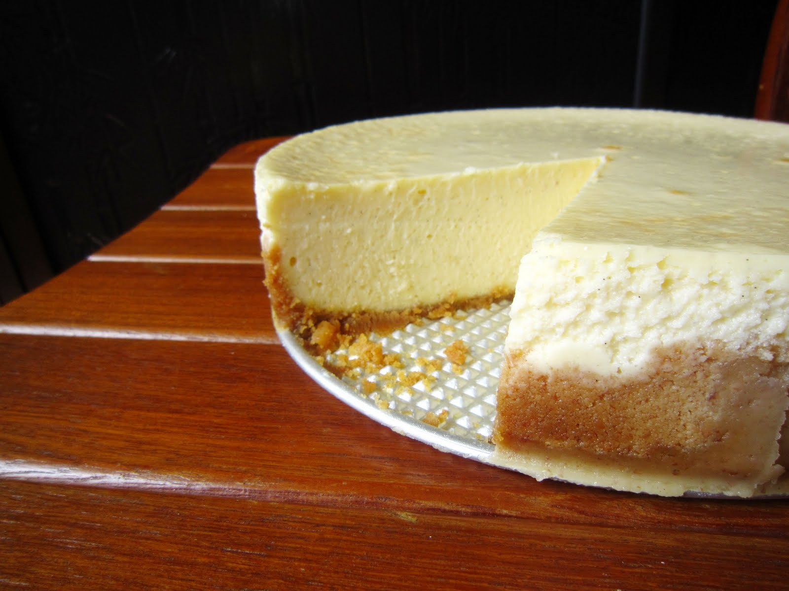 Tall and Creamy Cheesecake (adapted from Dorie Greenspan's Baking ...