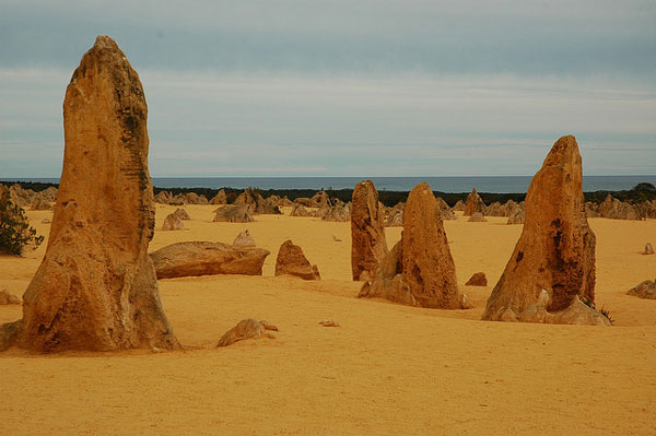 The Pinnacles, Australia. Foto: badjonni