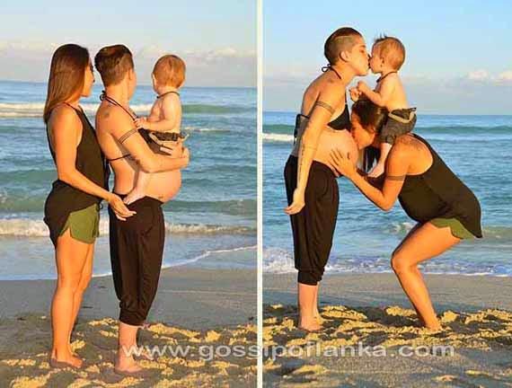 Gossip Lanka, Hiru Gossip, Lanka C News - Lesbian couple both gave birth