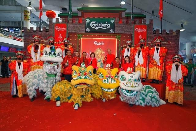 Carlsberg Malaysia 2014 Chinese New Year Media Launch @ Selangor Turf Club
