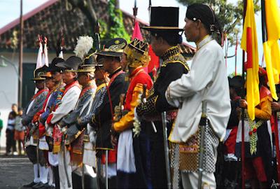 Prajurit keraton Yogyakarta