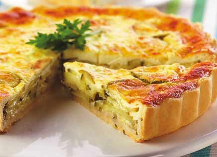Quiche de abóbora light