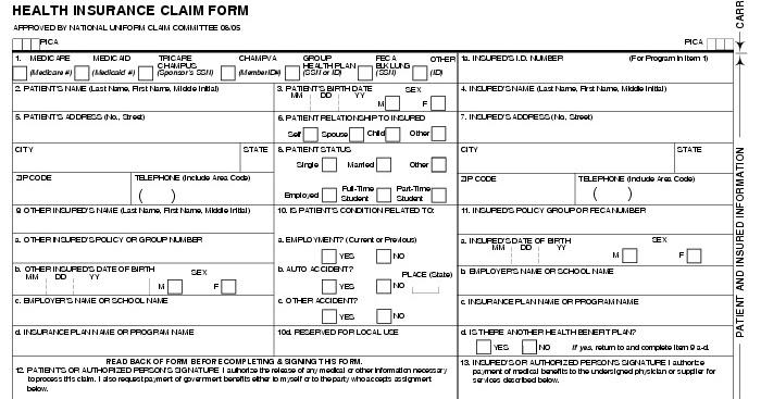 cms claimbilling: CMS 1500 claim form billing instruction Part 3