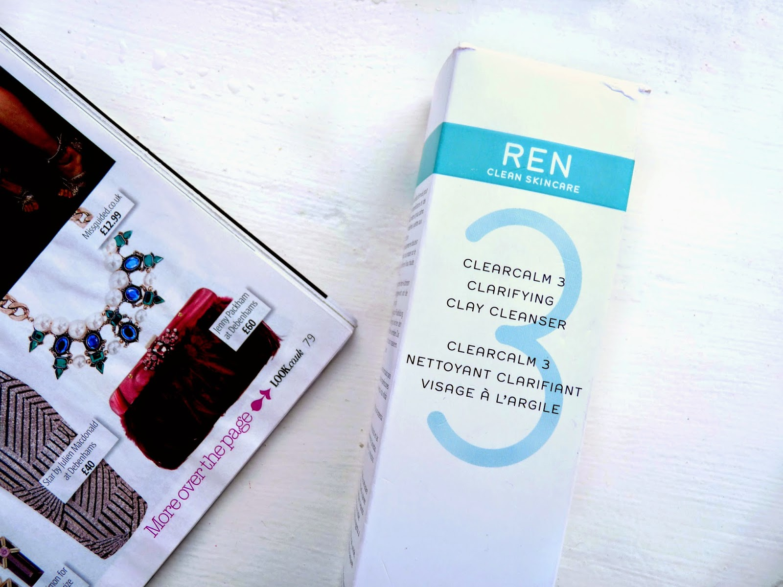 REN Clarifying Clay Cleanser Review