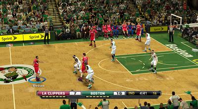 NBA 2K13 Fox Sports TV Scoreboard Mod