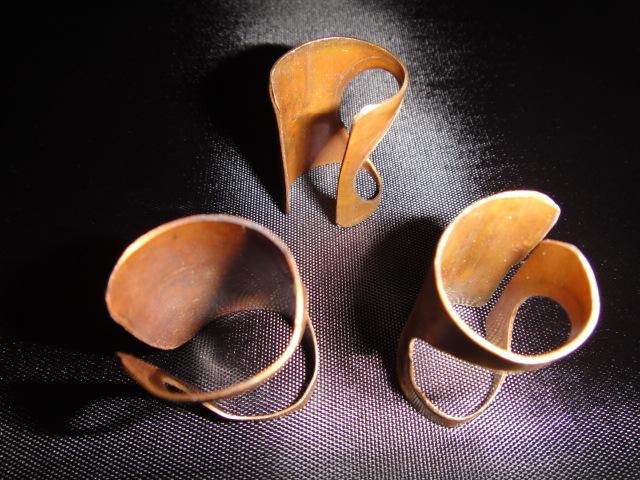 Urbanesque O Copper Rings