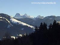 Kaisergebirge in Tyrol Austria