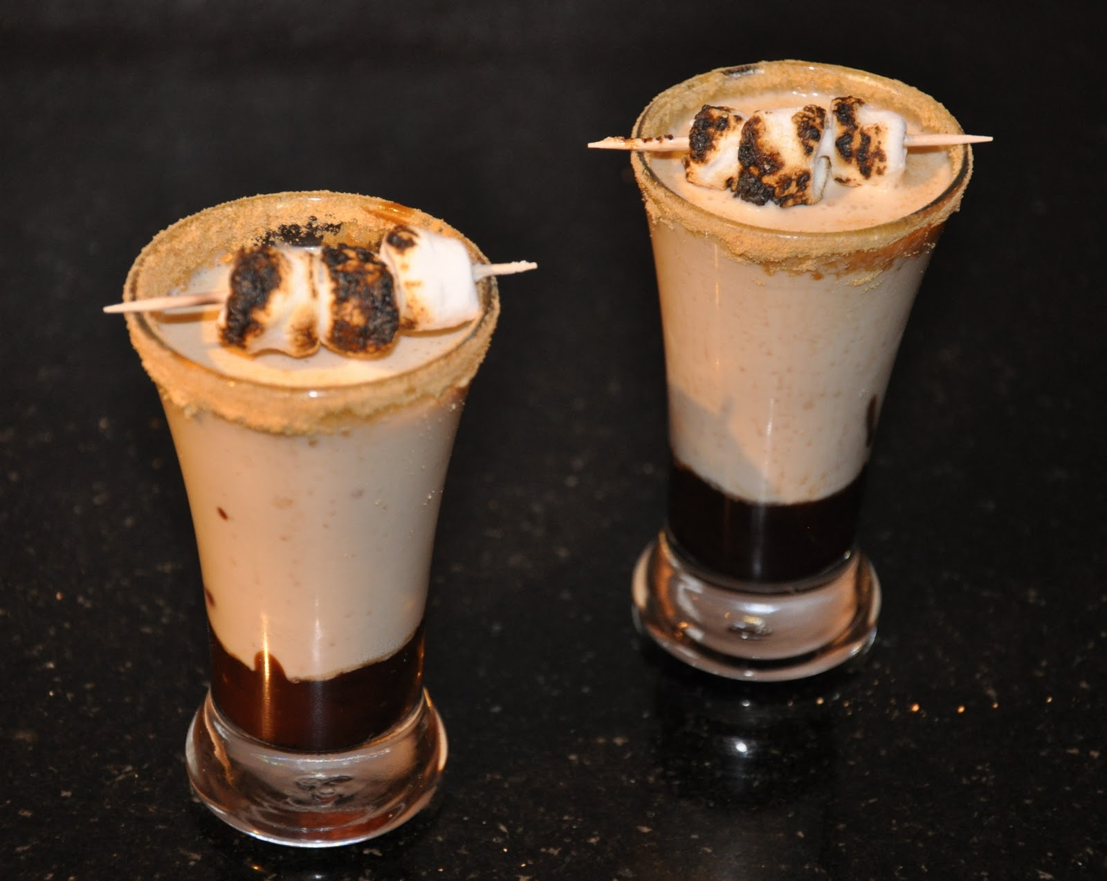 Cooking and Entertaining with Leah: S'mores Shooters