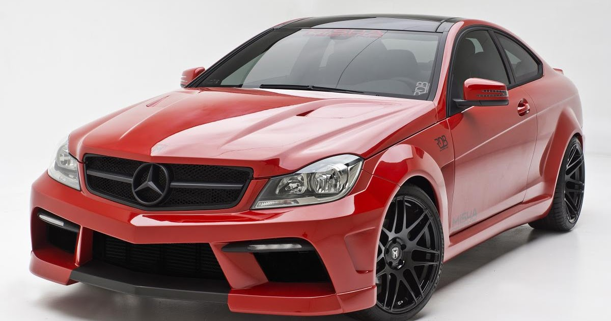 All Cars New Zealand Mercedes Benz C Class Coupe By Misha