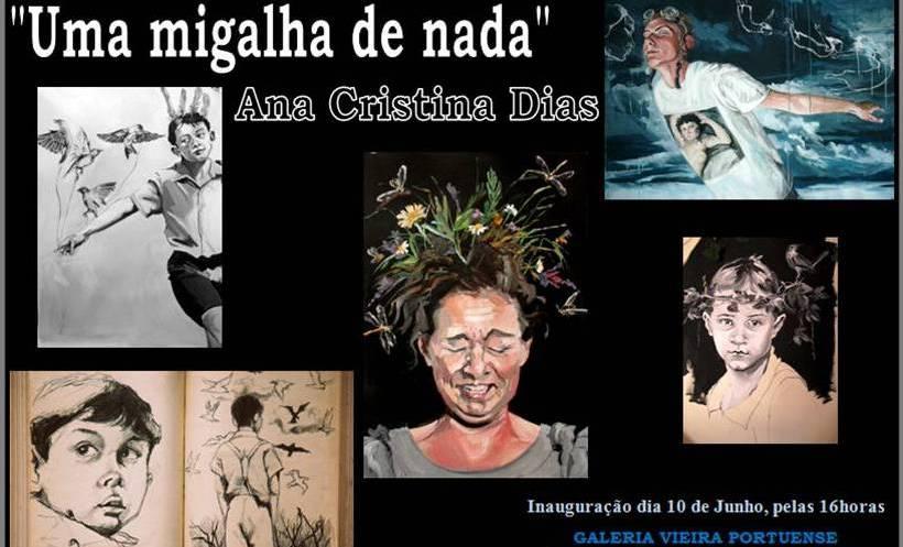"""""""Uma Migalha de Nada"""" de Ana Cristina Dias"""