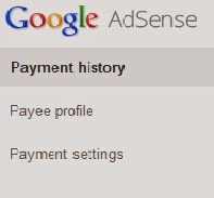 adsense payment settings