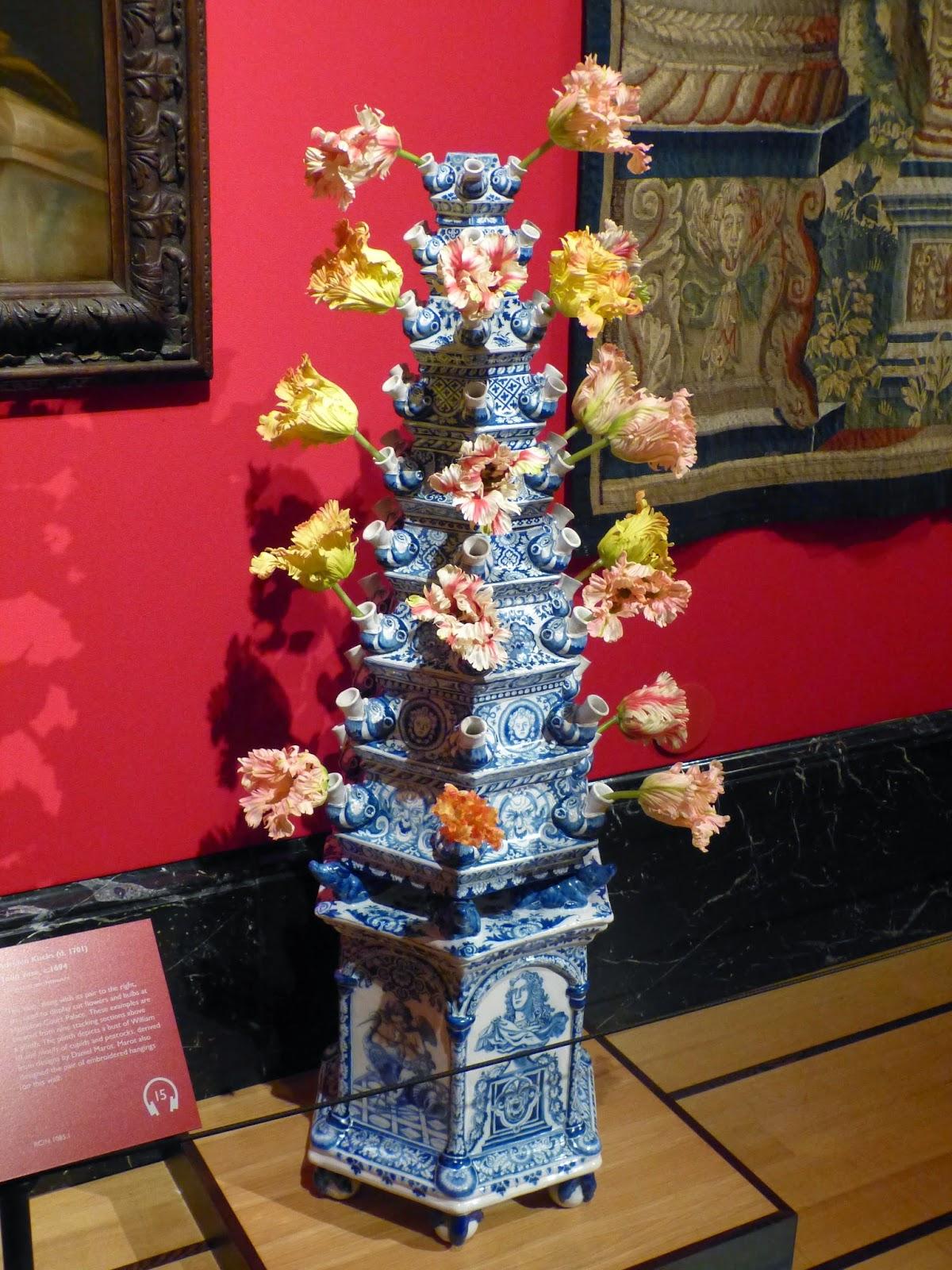 Tulip vase by Adriaen Kocks (c1694)