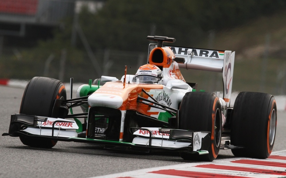 Equipe Force India de Formula 1 de 2011 BY rogeriolima23.blogspot.com