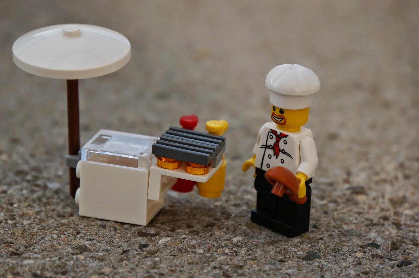 stadtlandjob Imbiß Lego