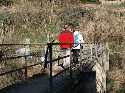 La Palanca de Cal Marçal sobre el riu Llobregat