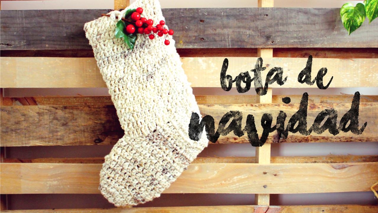 Botitas de Navidad a Crochet ¡MULTIUSOS! - Ahuyama Crochet