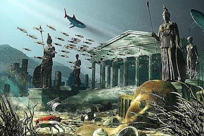 Komet Sebabkan Peradaban Kuno Atlantis Terkubur?